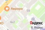 Схема проезда до компании Юст энд Юрис в Санкт-Петербурге