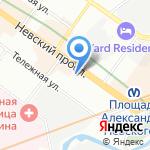Райский отдых на карте Санкт-Петербурга