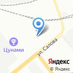Тех Люб на карте Санкт-Петербурга