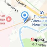 Таурус на карте Санкт-Петербурга
