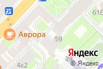 Схема проезда до компании Беллона в Санкт-Петербурге