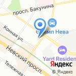 Служба Согласований на карте Санкт-Петербурга