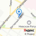 MasterGroom на карте Санкт-Петербурга