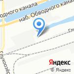 Невский фильтр на карте Санкт-Петербурга