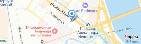 Консалтум на карте Санкт-Петербурга