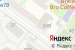 Схема проезда до компании Град Моторс в Санкт-Петербурге