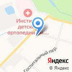 Кофейня на карте Санкт-Петербурга