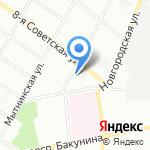 Детский сад №58 комбинированного вида на карте Санкт-Петербурга