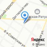 Наташа на карте Санкт-Петербурга