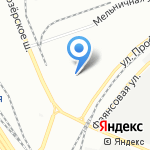 ПЕТРОСТРОЙ на карте Санкт-Петербурга