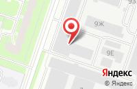 Схема проезда до компании Кравташ в Санкт-Петербурге