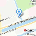 VREDESTEIN на карте Санкт-Петербурга