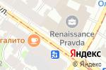 Схема проезда до компании Донхлеббанк, ПАО в Санкт-Петербурге