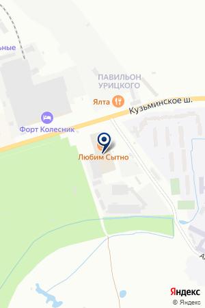 ТОРГОВАЯ КОМПАНИЯ НОВОМАК на карте Пушкина