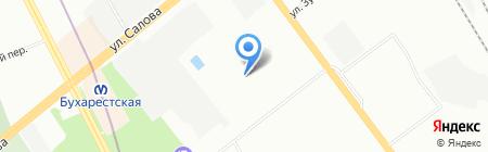 ТАЙФУН ЛТД на карте Санкт-Петербурга
