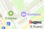 Схема проезда до компании Копирка в Санкт-Петербурге