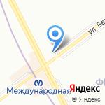 Магазин фруктов и сухофруктов на карте Санкт-Петербурга
