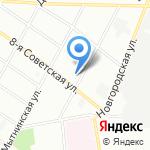 Высшая торговая технологическая школа на карте Санкт-Петербурга