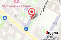 Схема проезда до компании Студия «Золотое Сечение» в Санкт-Петербурге