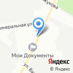 Аванта на карте Санкт-Петербурга