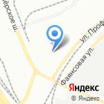 Протрансстрой на карте Санкт-Петербурга