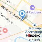 СТОМА на карте Санкт-Петербурга