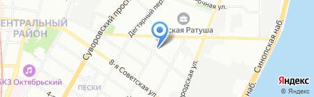 ВиваТ на карте Санкт-Петербурга