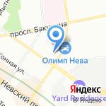 Израильский Культурный Центр на карте Санкт-Петербурга