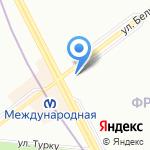 Детишки на карте Санкт-Петербурга