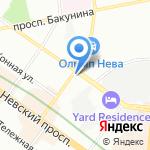 Профессиональная Психотерапевтическая Лига на карте Санкт-Петербурга