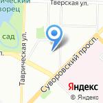 Акросс-Лаб на карте Санкт-Петербурга