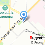 Yves Delorme на карте Санкт-Петербурга