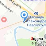 Е Масло на карте Санкт-Петербурга
