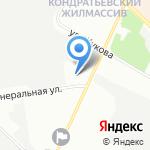 Управление МВД России по Калининскому району на карте Санкт-Петербурга
