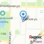 Городская поликлиника №38 на карте Санкт-Петербурга