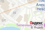 Схема проезда до компании Автокомплекс в Санкт-Петербурге