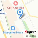 Балканский на карте Санкт-Петербурга