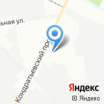 Фернан Леже на карте Санкт-Петербурга
