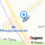 Поплавок на карте Санкт-Петербурга