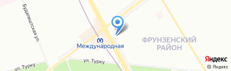 Gusto на карте Санкт-Петербурга