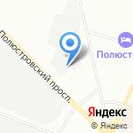 Гарант-Транс на карте Санкт-Петербурга