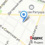 Герой на карте Санкт-Петербурга