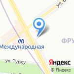 La seda на карте Санкт-Петербурга