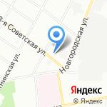 Квадривиум на карте Санкт-Петербурга