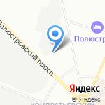 ЗСПУ-Информационные технологии на карте Санкт-Петербурга