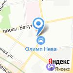 Домашняя кухня на карте Санкт-Петербурга