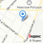 Почтовое отделение №144 на карте Санкт-Петербурга