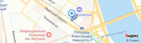 Собственник на карте Санкт-Петербурга