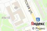 Схема проезда до компании Империя детства в Санкт-Петербурге