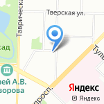 Ретро на карте Санкт-Петербурга